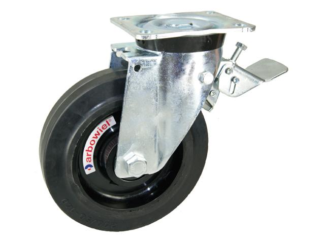 Waste container castors arbowheel nylon wheel centre
