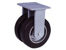 Series GZ ball bearing, Swivel castors SGD with plate fitting