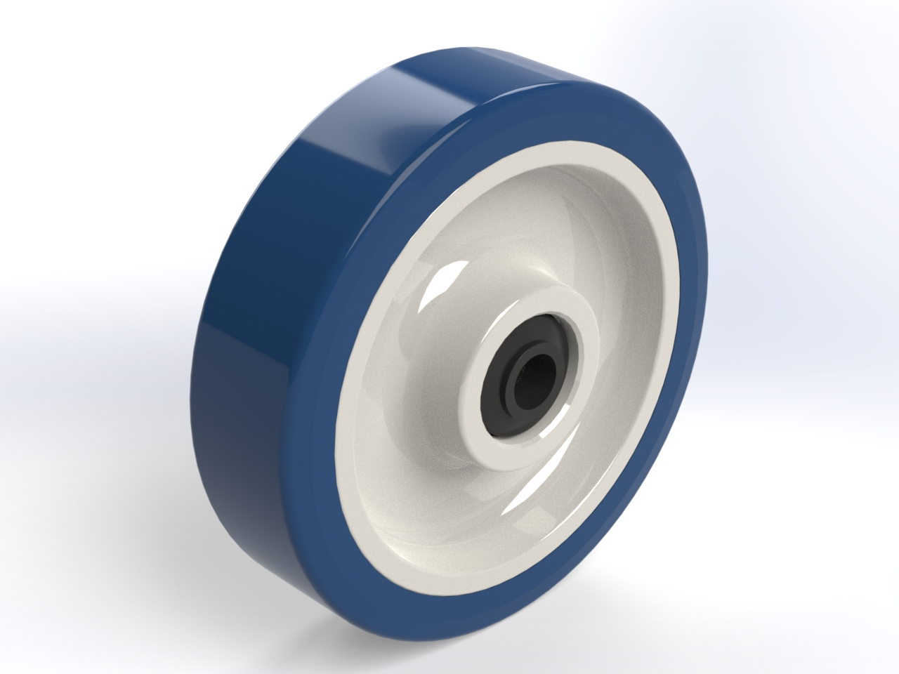 Series AS ball bearing with waterproof seal, Wheels