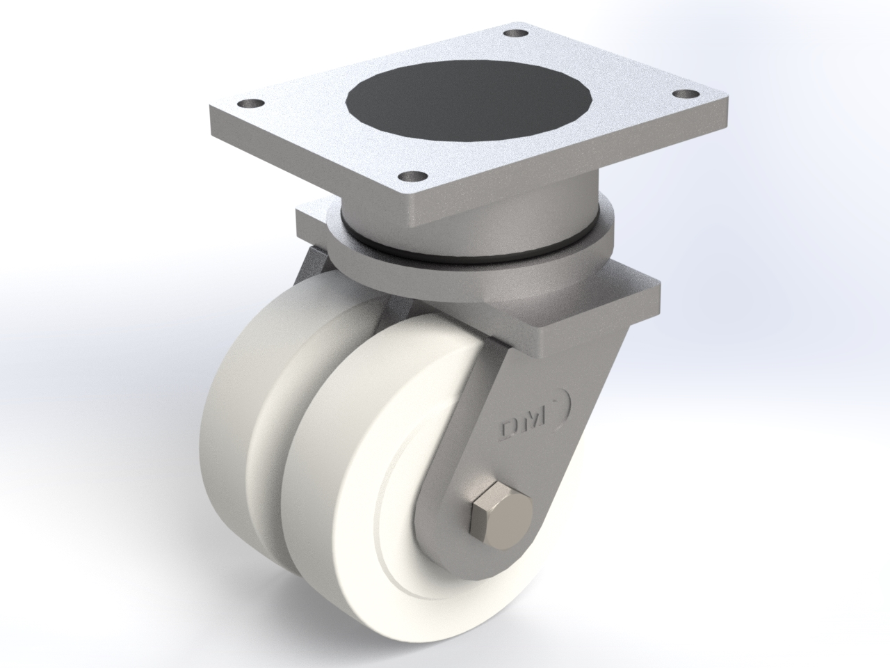 Series PE ball bearing, Swivel castors SGD with plate fitting